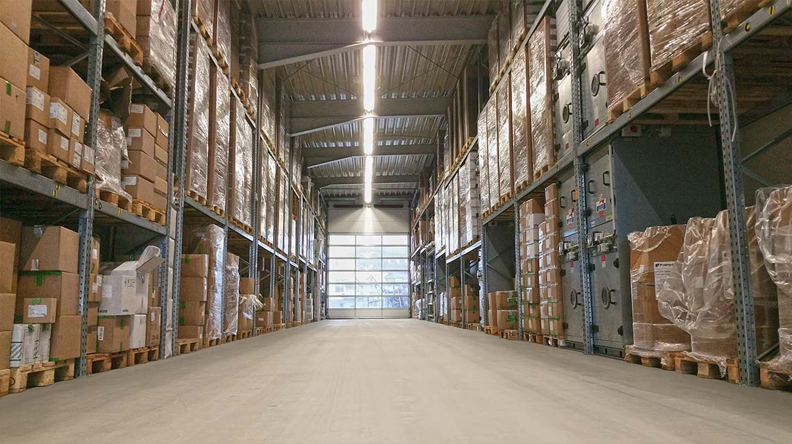 Warehouse area